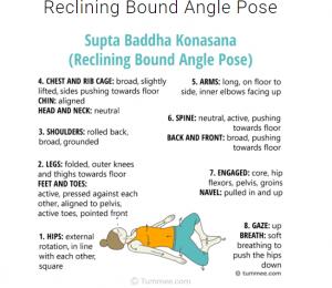 yin yoga posture papillon